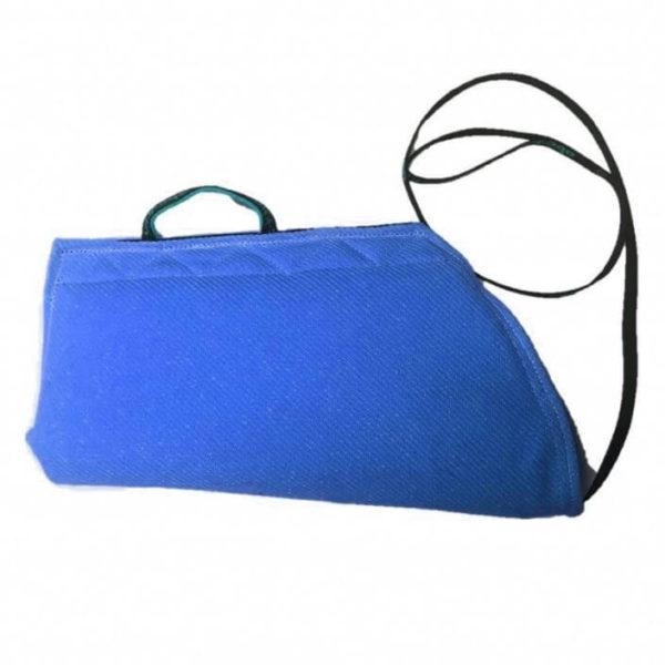manica-protezione-cuccioli-corda-lunga-non-imbottita-blu