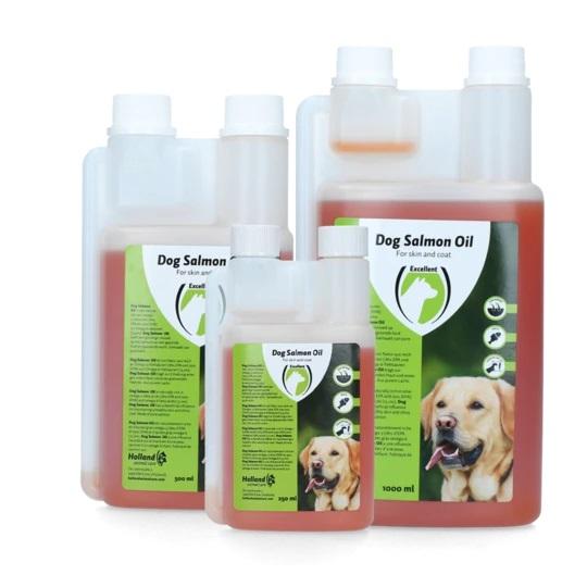 olio di salmone per cani