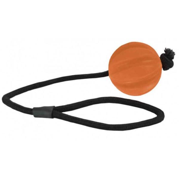pallina-corda-singola-100-gomma-naturale-arancione-per-cani (1)