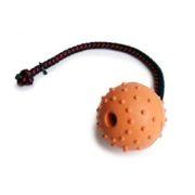 pallina-corda-singola-gomma-arancione-65-mm