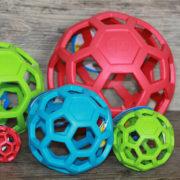 palla retata in gomma JW hol-ee roller (4)