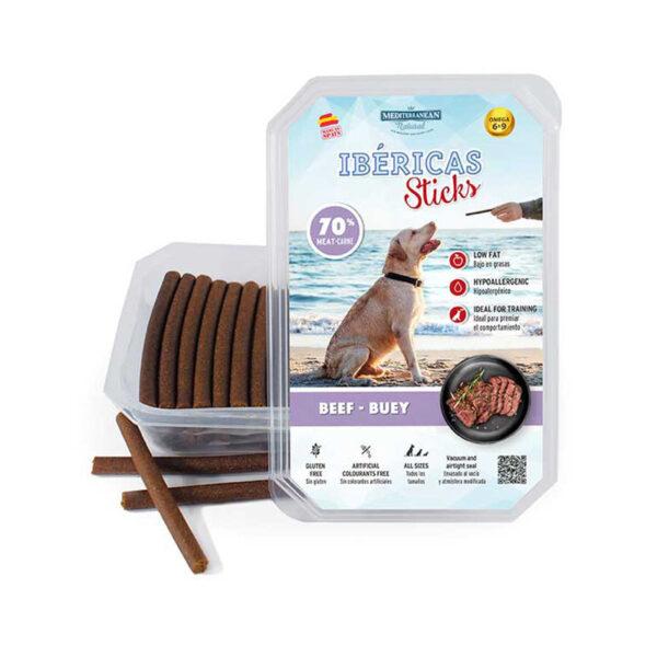 ibericas sticks bastoncini per cani manzo